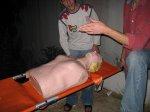 na kursie pierwszej pomocy